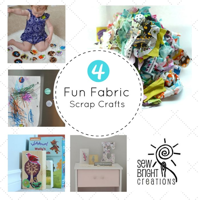 4 Fun Fabric Scrap Crafts
