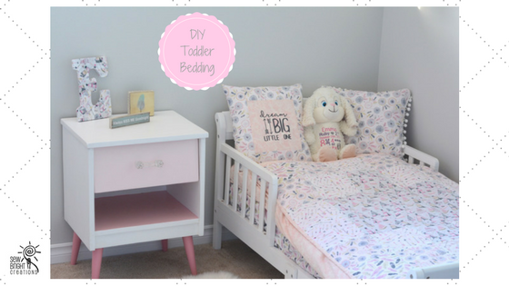DIY Toddler Bedding & Duvet Cover Tip