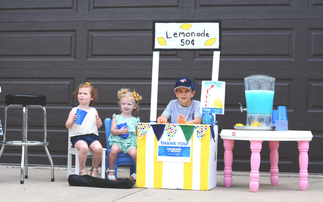 DIY Lemonade Stand & Fundraiser