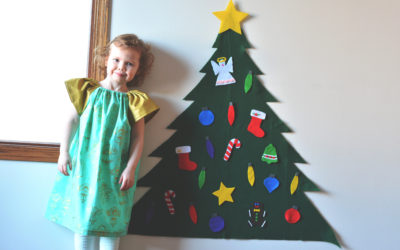 How to Make a Felt Christmas Tree in 4 Easy Steps