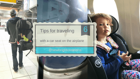 6 Tips for Taking a Car Seat on the Airplane