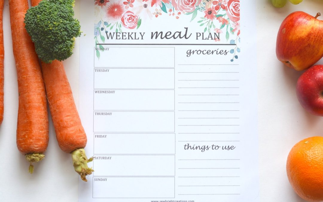What's New In My Kitchen – How I Shopped my Pantry/Freezer for a Month & Learnt How to Meal Plan