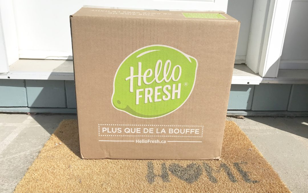 What's New In My Kitchen: An Honest Review of Hello Fresh + Coupon Code