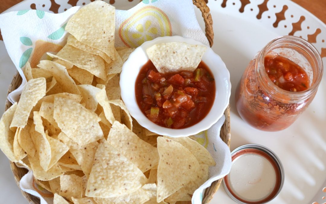 The Best Salsa Recipe – For Canning
