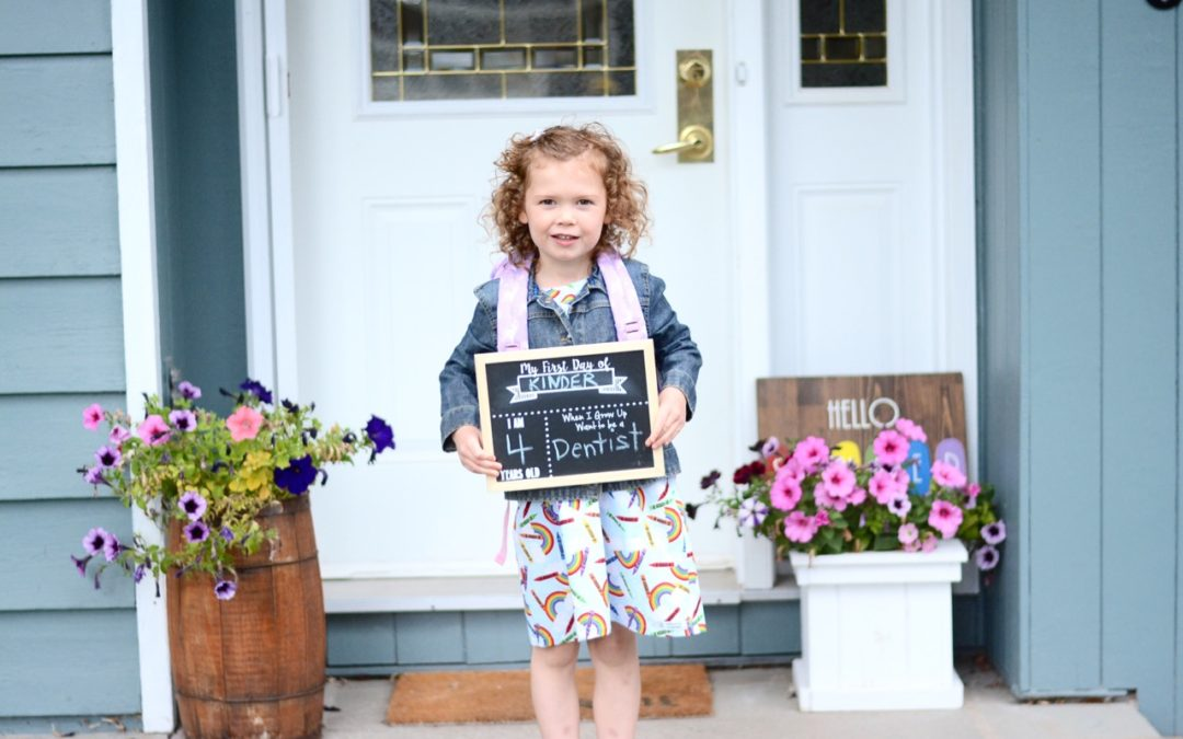 Our Back to School Essentials: Kindergarten