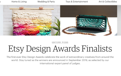 Have You Heard of the Etsy Design Awards?