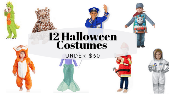 A Dozen Halloween Costumes Under $30