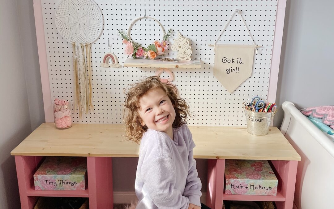 How to Build a Kid's Desk in a Weekend
