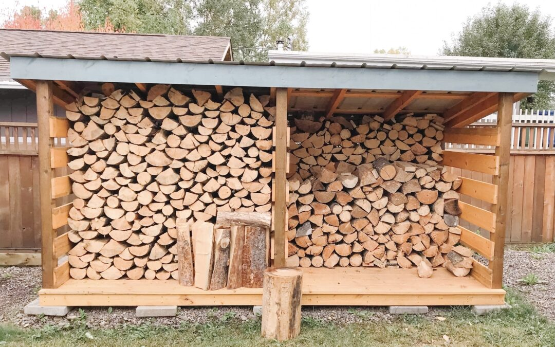 FREE Wood Shed Ideas: Drawings + Photos